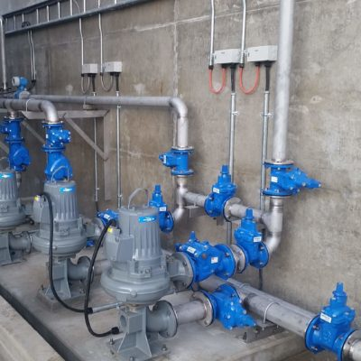 Pumps fit out and services